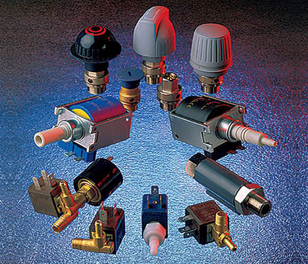 Solenoid valves、Solenoid Pumps、Pressure Switches、Safety Valves