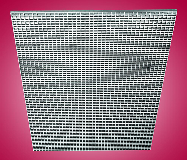 Plastic Specular Silver louver